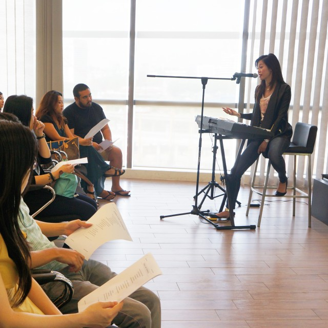 Group vocal and singing lessons, Kuala Lumpur