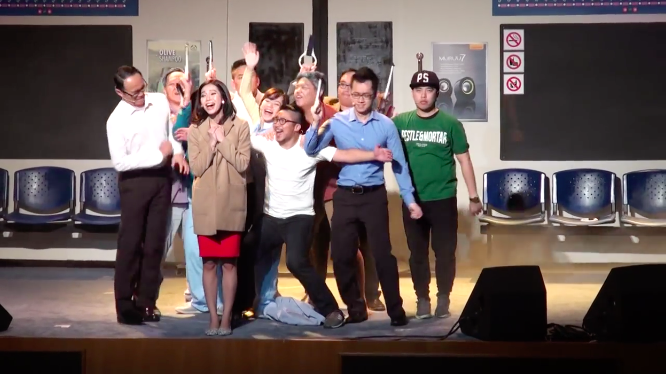 Silver Lining, The Musical directed & written by Janice Yap